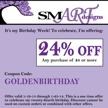 SMARTdesigns custom coupon