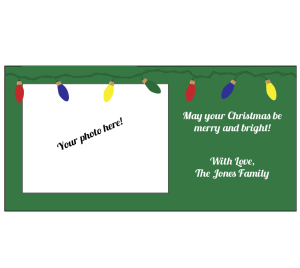 Christmas Lights Card 1
