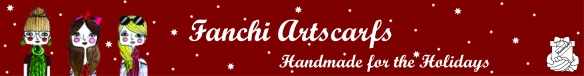Holiday Banner for Fanchi Artscarfs