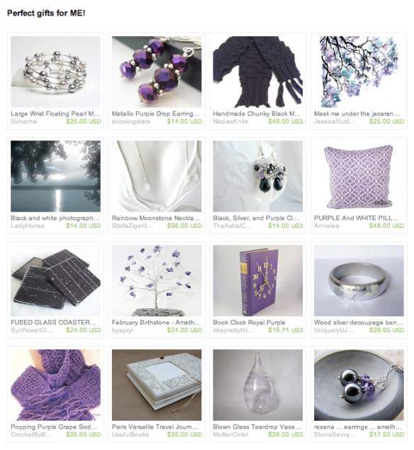 My Wish List Treasury