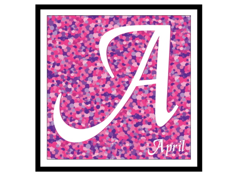 A is for April pic